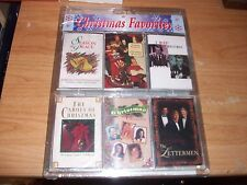 Christmas Classic Favorites 6 Cassettes Collector Set Season of Peace Memories