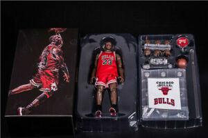 New NBA Collection 23# Michael Jordan Motion Masterpiece 1:9 Scale Action Figure