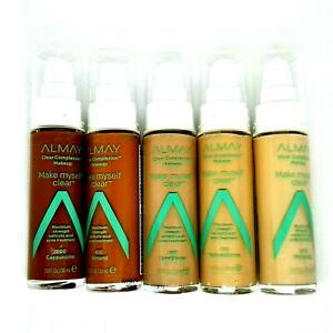 Almay Clear Complexion Makeup Make Myself Clear Foundation ~ Choose ~
