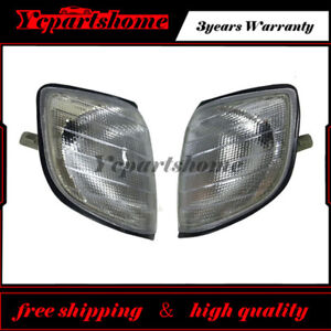 For Corner Lights Parking Lamps PAIR 1992-1999 W140 S320 S420 S500 S600 S-Class