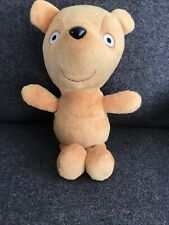 PEPPA PIG's TEDDY BEAR 12 Inches Big PLUSH VELOUR TOY FIGURE  TY Free Post