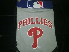 GENUINE Philadelphia Phillies GREY DrawString Bag Backsac Back Sack Sling NEW