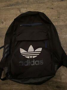 Black Adidas Backpack Rucksack Schoolbag