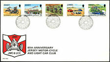 Jersey 1980 Motor Cycle And Light Car Club FDC First Day Cover #C42323