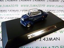 AK2 voiture 1/43 ixo atlas Auto Klassiker : MESSERSCHMITT KR200 bleu