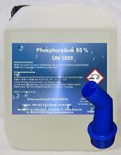 5 Ltr. Phosphorsäure 85% H3P04 Kalklöser Rostumwandler Urinsteinlöser Rostlöser