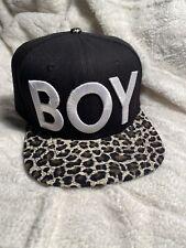 Boy london Cheetah Print Snapback