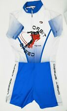 New Hidden Bay Tri Suit Orbit Speed Team Triathlon  Skating Speedsuit Large