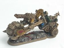 GW 40K ORK WARBIKE CONVERSION. PAINTED. PURPLE 607