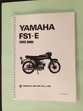 YAMAHA FS1E FIZZY FS1 FS1-E FS1-E DX SERVICE MANUAL