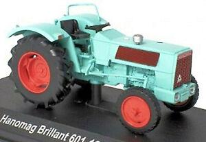 Hanomag Brillant 601 - 1967 Traktor Schlepper türkis turquoise 1:43