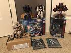 Transformers Earthrise Dirge, Ramjet, Thrust & Sandstorm Complete
