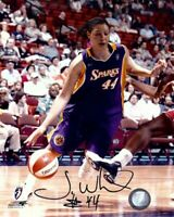 Tamika Whitmore Signed Autographed 8X10 Photo Sparks Action Dribbling WNBA w/COA