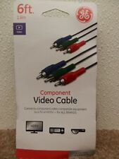 COMPONENT VIDEO CABLE CONNECT COMPONENTS TO TV OR HDTV GE ITEM#33607