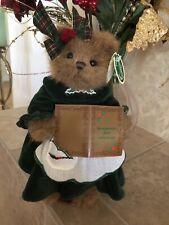 Bearington Bears Missy Sugarbaker #173031 2007 10� Plush Xmas�Green Dress Mwt�