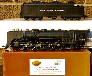 HO Brass Hybrid Broadway Limited BLI-1287 NYC Mohawk 4-8-2, DC/DCC Sound Tested