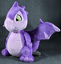 NWOT 2008 Purple Scorchio Neopet Keyquest Plushie Stuffed Animal dragon Series 3
