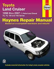 New Toyota Land Cruiser Petrol & Diesel (98-07) Haynes Repair Manual