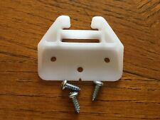 New listing 3 x Plastic Drawer Guide Bainbridge 1514 White + screws, with Usps Tracking #
