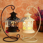 Iron Moroccan Candlestick Candleholder Candle Stand Light Holder Lantern W