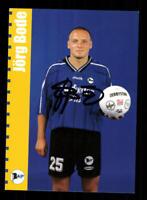 Jörg Bode  Autogrammkarte Arminia Bielefeld 1999-00 Original Signiert+A 173974