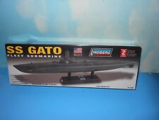 "Plastic Model Submarine  Kit..USS Gato... 1/240th Scalein Box 15 1/2"" Long MIB"