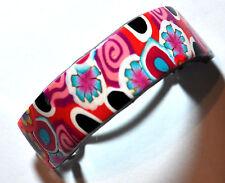 "New polymer clay hair clip 5 cm (2"") barrette ponytail holder by myfiori"