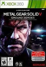 Metal Gear Solid V: Ground Zeroes (Microsoft Xbox 360, 2014) NEW
