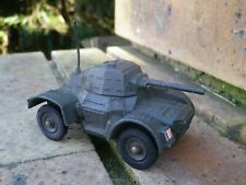 DINKY 676 ARMOURED CAR RARE MADE IN ENGLAND version EXPORT FRANCE 1972 TBE