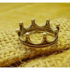 Alloy Band Round Stone Costume Rings