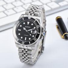 40mm Parnis 21 Jwerls Japan Miyota Sapphire Glass Men Automatic Waterproof Watch