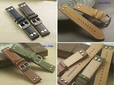 Unbranded Genuine Leather Wristwatch Straps