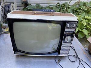 Vtg Vista 1970s Gaming Tv Television Swag Retro Space Age Rca Victor 1960s