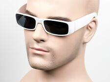Dark Smoke Cholo Gangster Sunglasses OG LOC Style Lowrider White 17SD/W