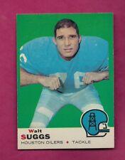 1969 TOPPS # 118 OILERS WALT SUGGS NRMT-MT  CARD   (INV# A6203)