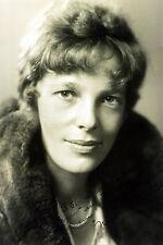 AVIATOR AMELIA EARHART 1930 PORTRAIT 12x18 SILVER HALIDE PHOTO PRINT