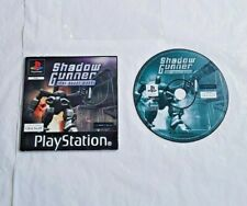Shadow Gunner The Robot Wars PS1 PlayStation PAL Disc & Manual only