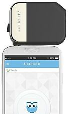 Alcohoot AHT101 Smartphone Breathalyzer, Black