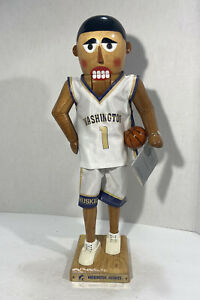 2002 Washington Huskies Basketball Nutcracker Sterling & Camille #398/500