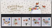 GB Presentation Pack 328 2001 Christmas Robins 2001