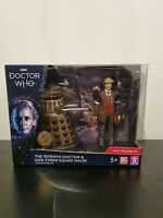 Doctor Who Seventh Doctor and AXIS Strike Squad Dalek Action Figure set BNIB