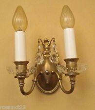 Vintage Sconces matched set of three 1920s Colonial Revival