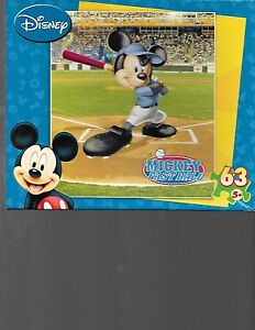 Mickey Fastball Puzzle 2007 MegaBrands Inc.