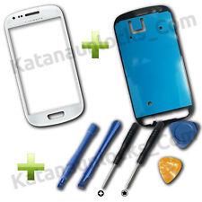 Cristal de pantalla Samsung Galaxy S3 Mini i8190 Blanco con Herramientas