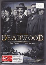 Deadwood - The Complete Third Season - DVD (Brand New Sealed) Region 4