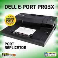 Dell Latitude E4200 E4300 E6520 E6530 E6540 E-Port Replicator Dock Station PR03X