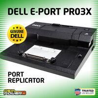 Dell Latitude E4200 E4300 E6520 E6530 E6540 E-Port Replicator Dock Station PR03X