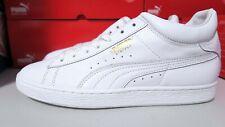 Puma Men's Stepper Classic TRIPLE White Sneaker 10.5 Leather