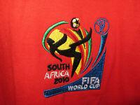 Fifa World Cup South Africa 2010 England Football Soccer T shirt XL