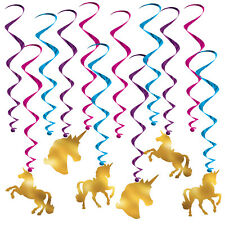 Unicorn Whirls Hanging Decoration Party Home Fun